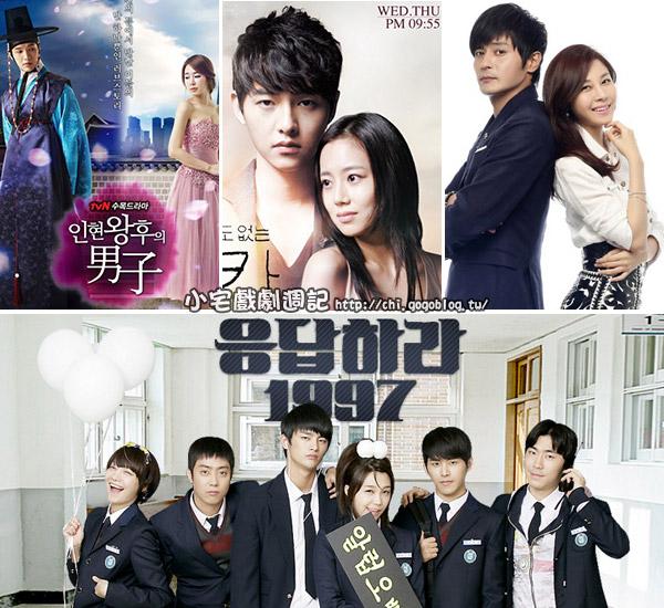 2012韓劇排行